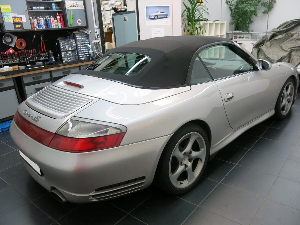 cabrio verdeck porsche 911 typ 996 facelift und typ 997. Black Bedroom Furniture Sets. Home Design Ideas